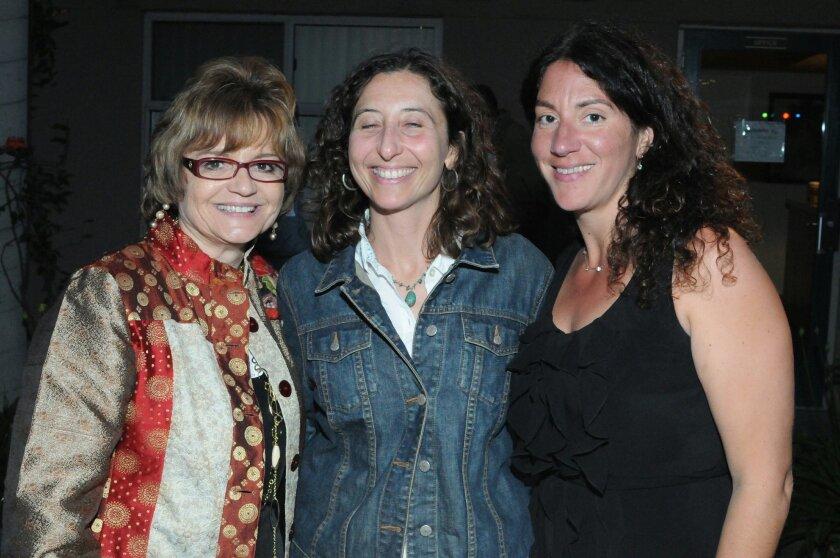 Executive Director Barbara Reuer, Elana Soltz, Andrea Cangiano