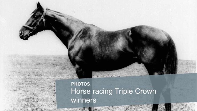 Horse racing Triple Crown winners