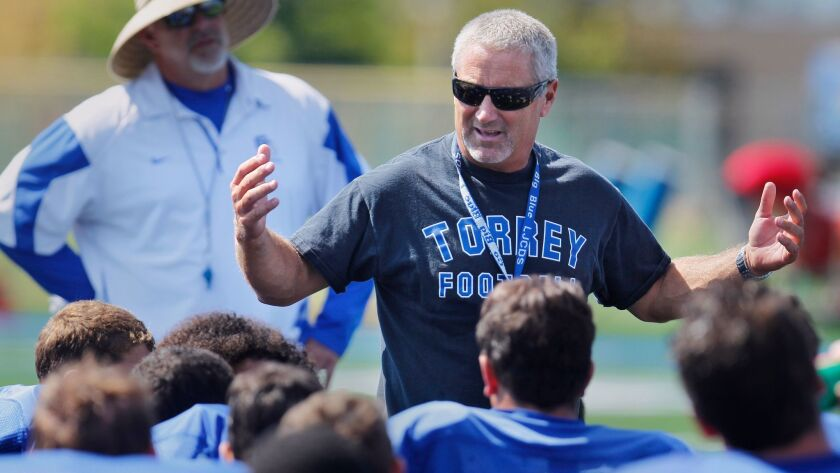Jeff Hutzler, formerly the football coach and still the athletic director at La Jolla Country Day, says communication has been the key to the Torreys' success.