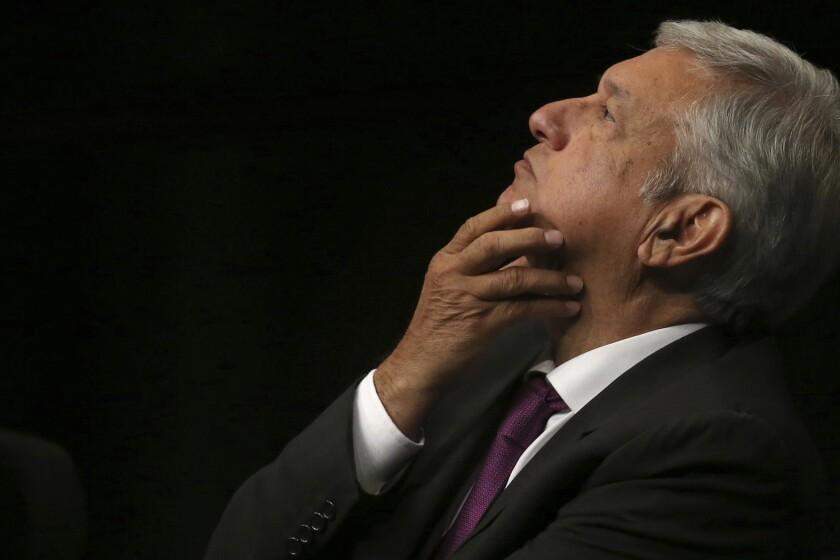 Andrés Manuel López Obrador, AMLO, como se le conoce popularmente. (AP Foto/Marco Ugarte, archivo)