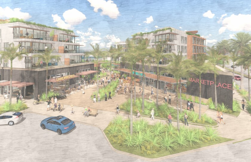 Rendering of Bayview Plaza