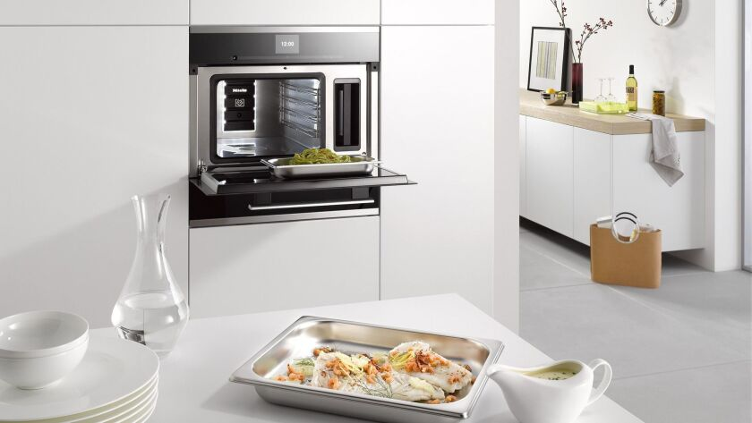 Steam cooking can help you create healthier meals. Photo courtesy of Miele
