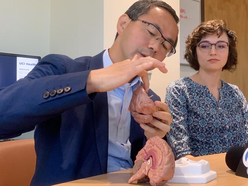 Dr. Jack Lin and Jasmine Williams