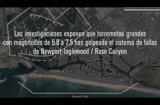 Un terremoto en Los Ángeles podría causar que las playas se hundan hasta 3 pies en segundos