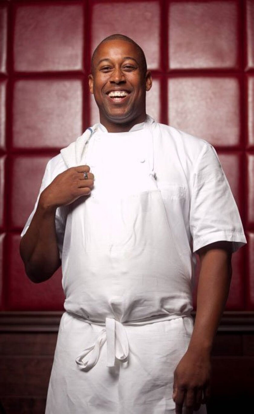 Kemar Durfield, the new executive chef of Donovan's Prime Seafood in the Gaslamp.