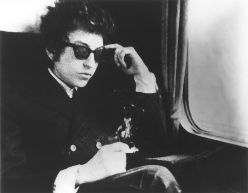 """Bob Dylan on his 1965 tour chronicled in """"Dont Look Back."""""""