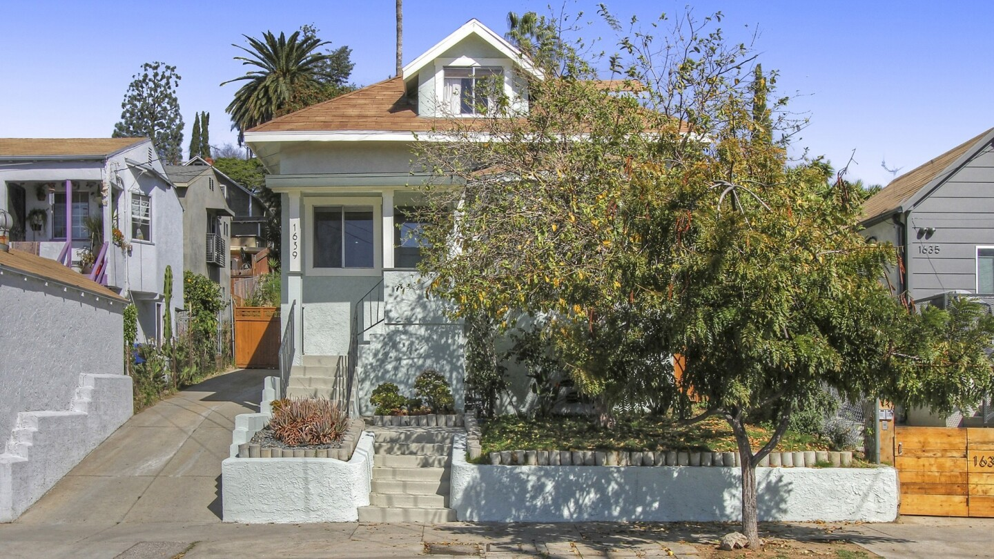 Home of the Day: An updated bungalow in the heart of Echo Park