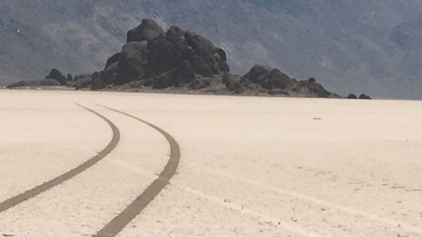 The National Park Service said that there have been additional incidents since last summer when someone drove on the famed Racetrack playa, leaving tire tracks that could remain visible for years.