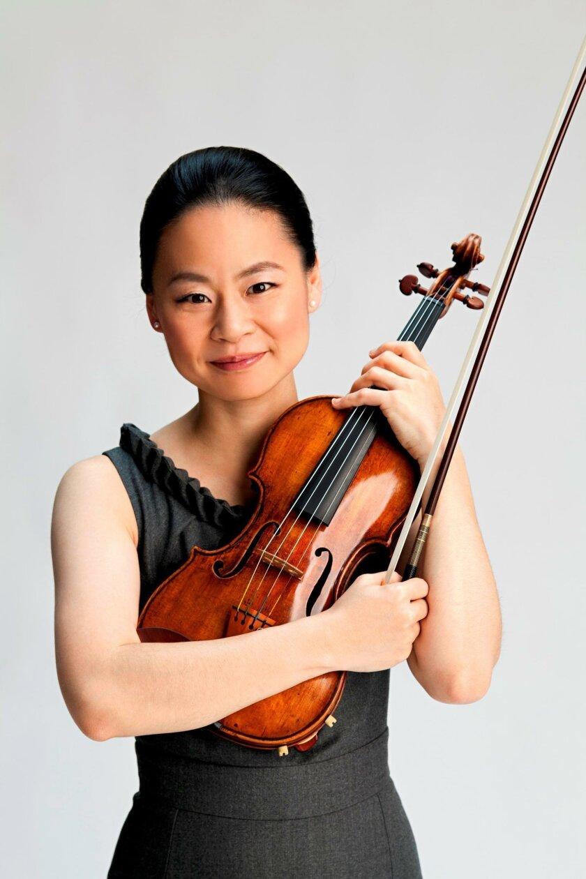 Violinist Midori Goto