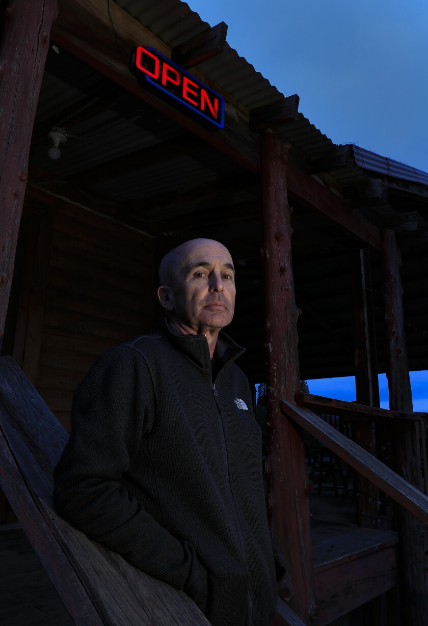 """JULIAN,CA., FEB 1, 2019: Thriller/crime novelist' Don Winslow's new book, """"The Border"""" comes out in"""
