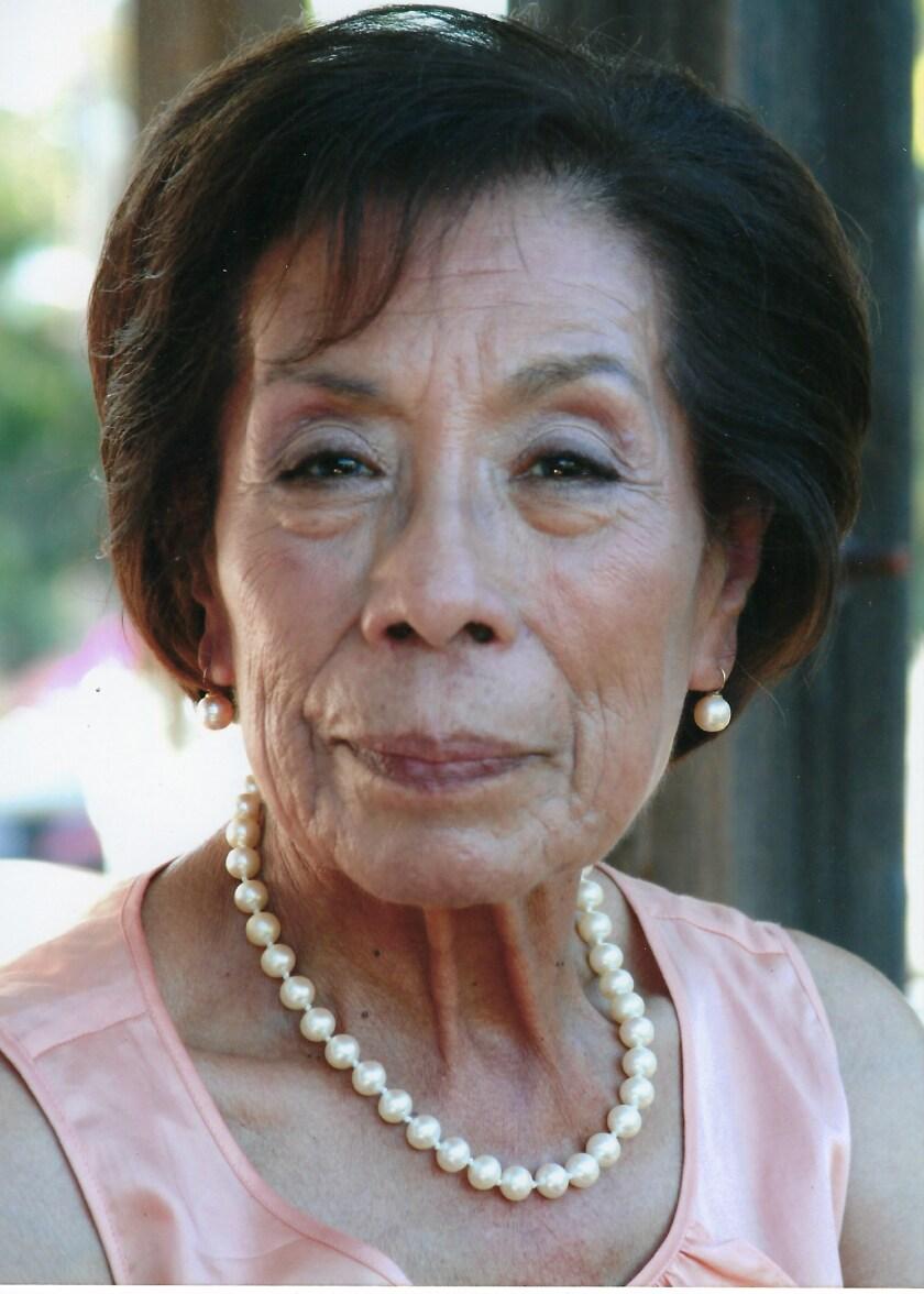 Dolores Robledo fotografiada en 2015. Murió el 14 de julio a la edad de 90 años.