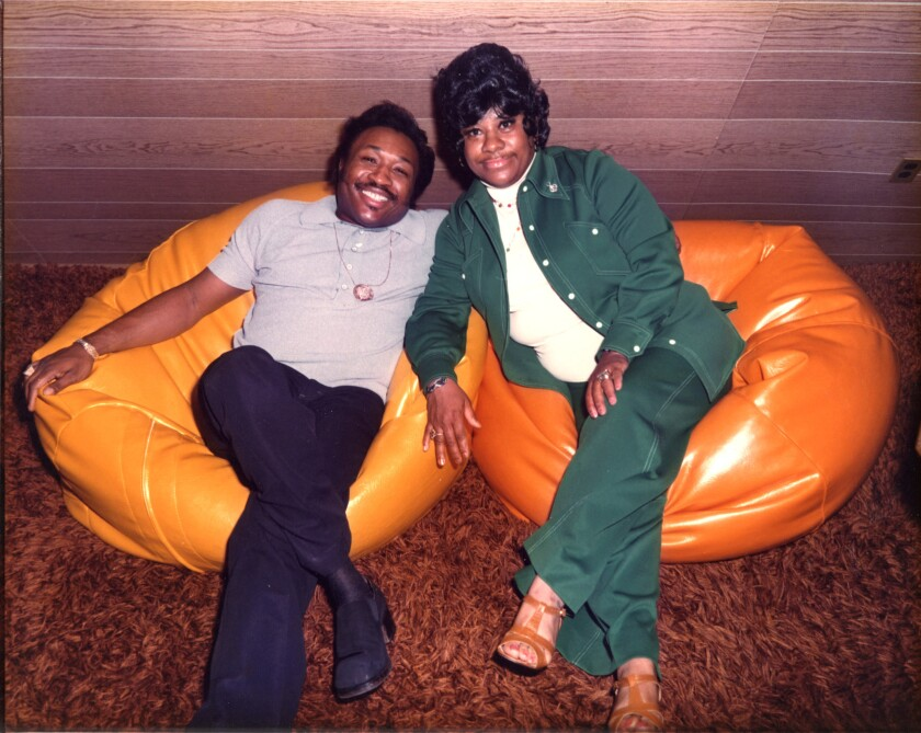 Jerry Williams Jr., a.k.a. Swamp Dogg, and singer Ruth Brown. Swamp Dogg will make a rare live appearance on Saturday, July 27, at the Echo.