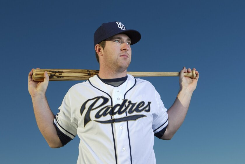 Jedd Gyorko had an interesting major league debut with the Padres on Monday.