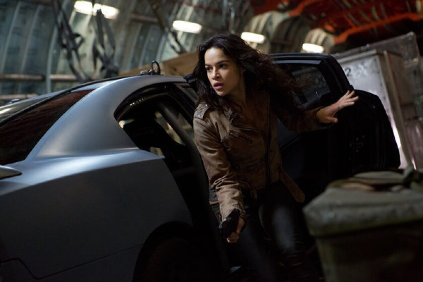 Michelle Rodriguez To Quit Acting After Fast Furious 6 Los Angeles Times