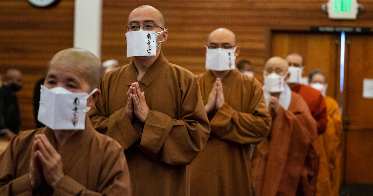 Rare gathering of world's vast schools of Buddhism offers healing against racial hate