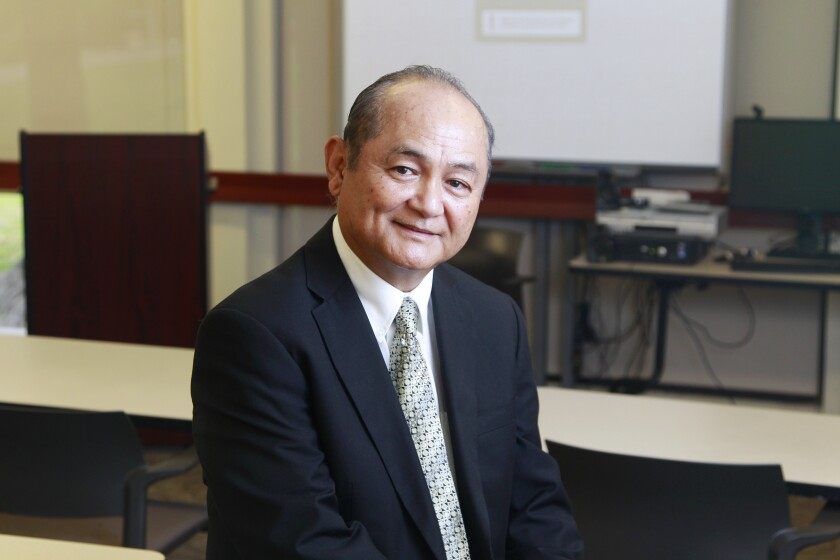 Godwin Higa, who is a consultant and teaches at Alliant International University in San Diego, is the former principal of Cherokee Point Elementary, San Diego's first trauma-informed school.