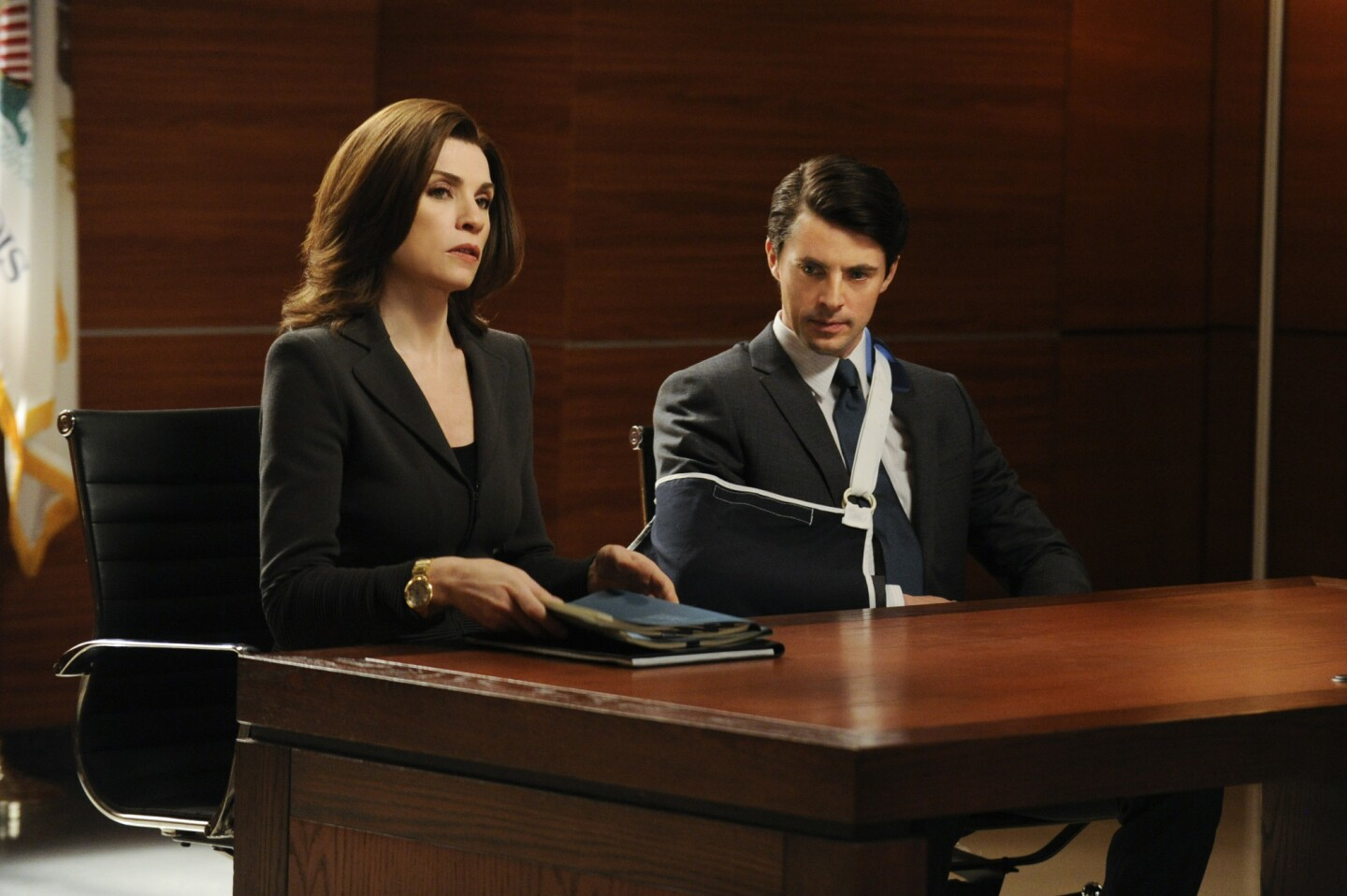 """If Twitter is any indication, the most egregious oversight was for """"The Good Wife."""" The CBS legal show was thought to have a strong Emmy case, but it failed to score a top drama nomination."""