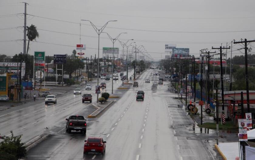 Tormenta tropical Fernand trae lluvias torrenciales en el noreste de México
