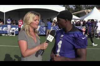 "Rams receiver Tavon Auston, ""We in Cali"""