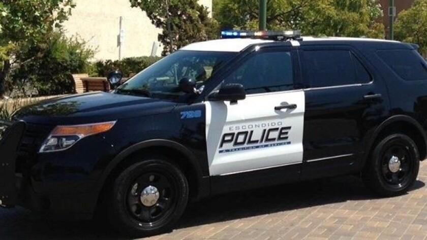 Escondido police car