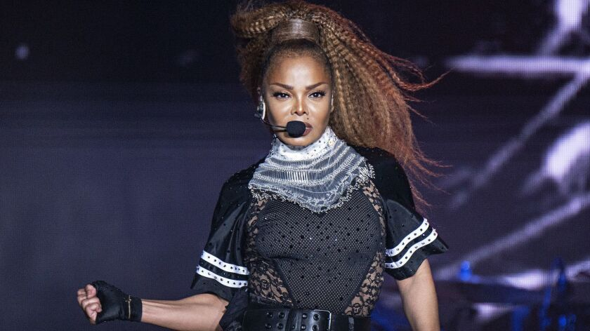 Janet Jackson, at last year's Essence Festival in New Orleans.
