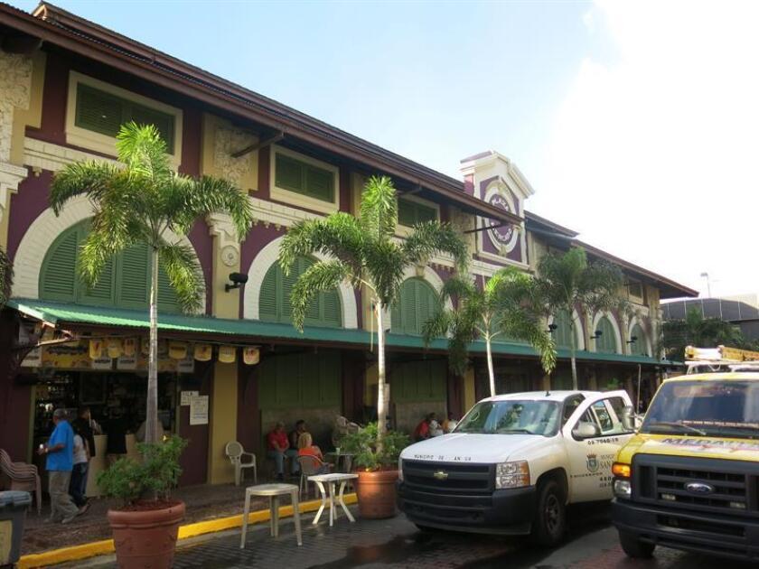 Vista de la emblemática Placita de Santurce. EFE/Archivo