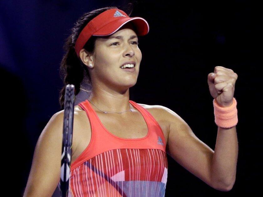 Ana Ivanovic, Garbine Muguruza advance to third round at Australian Open