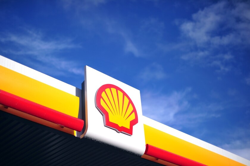 Energy titan Royal Dutch Shell agreed to buy Britain's BG Group for $70 billion, the companies announced. Above, a Shell station in central London.