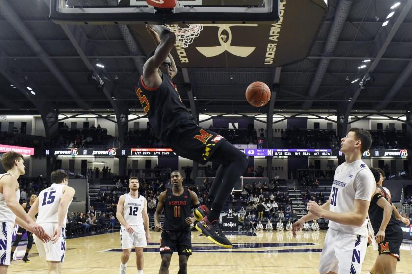 Maryland Northwestern Basketball