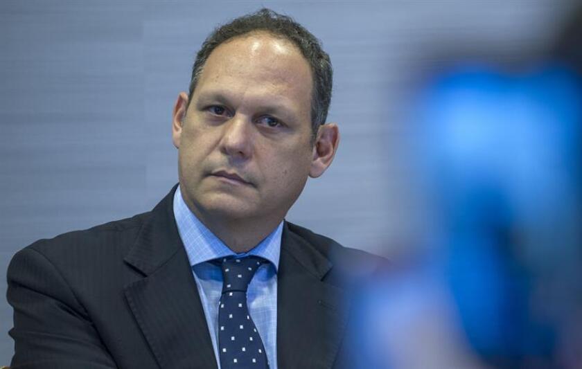 El presidente del Tribunal Supremo de Justicia (TSJ) de Venezuela en el exilio, Miguel Ángel Martín. EFE/Archivo