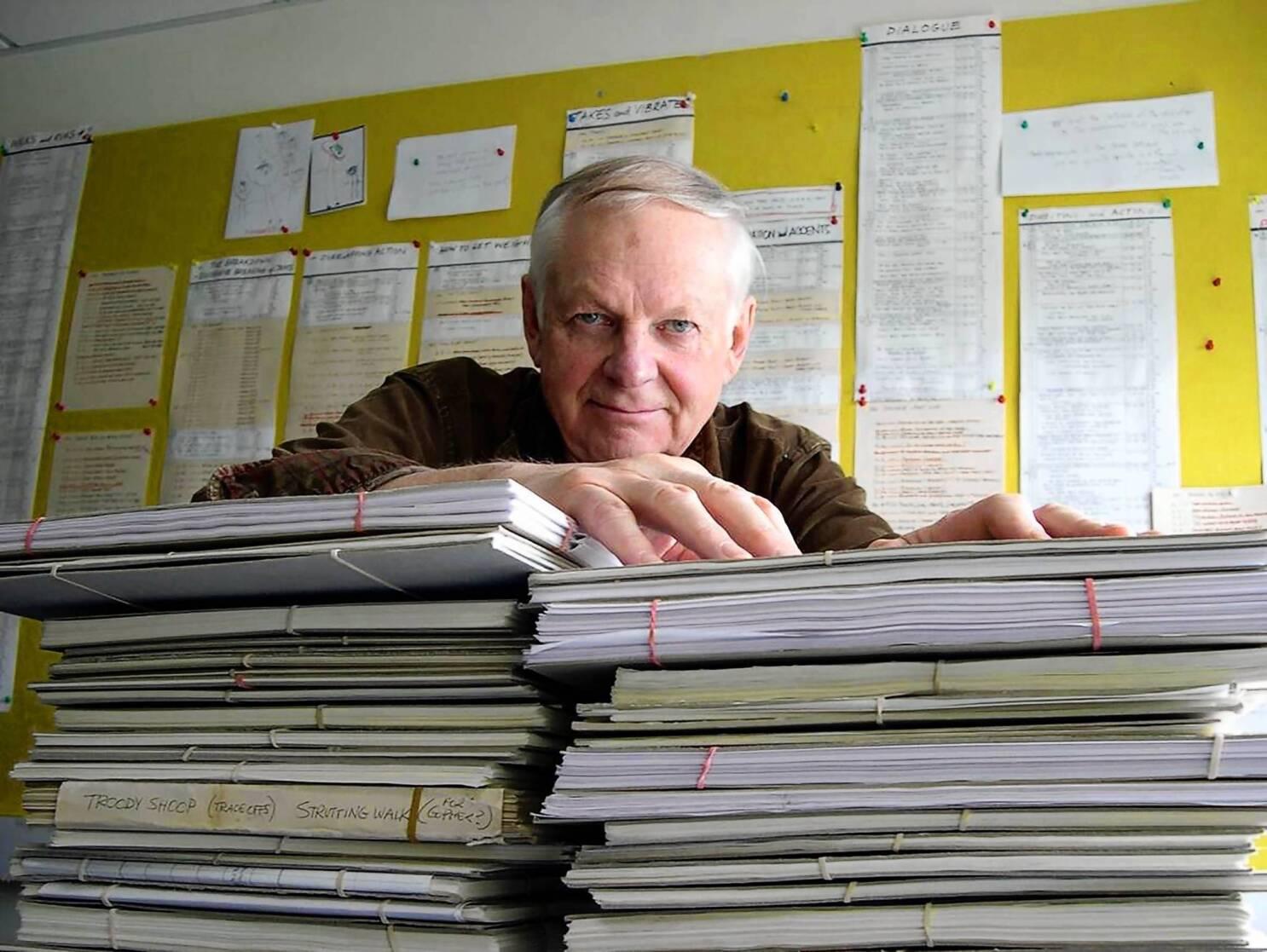 Richard Williams, 'Roger Rabbit' animator, dies at 86