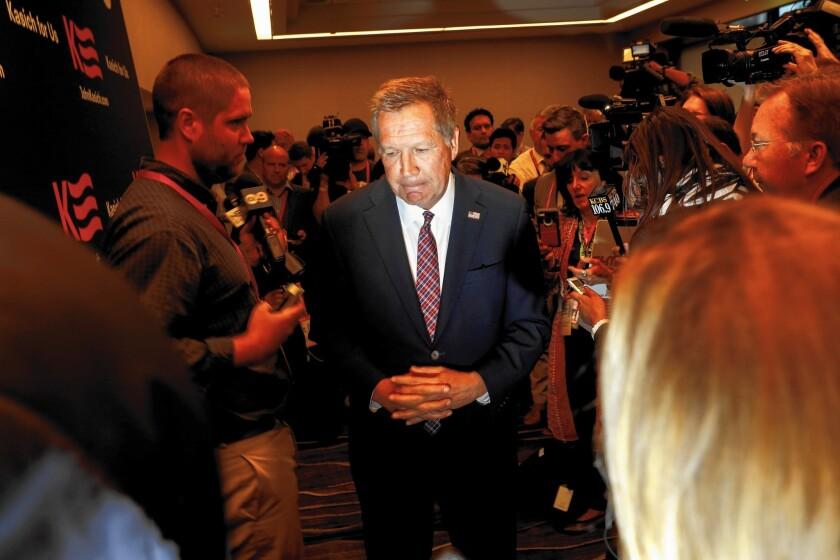 GOP presidential candidate John Kasich