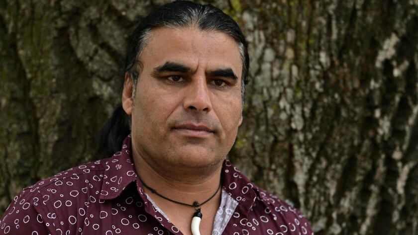 Afghan refugee Abdul Aziz, 48, during an interview in Christchurch, New Zealand.