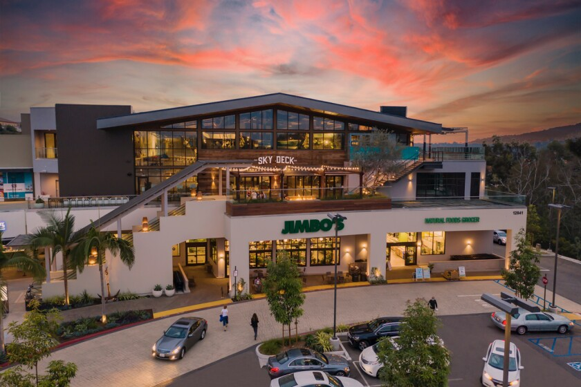 Sky Deck in Del Mar Highlands Town Center is anticipated to open this spring.