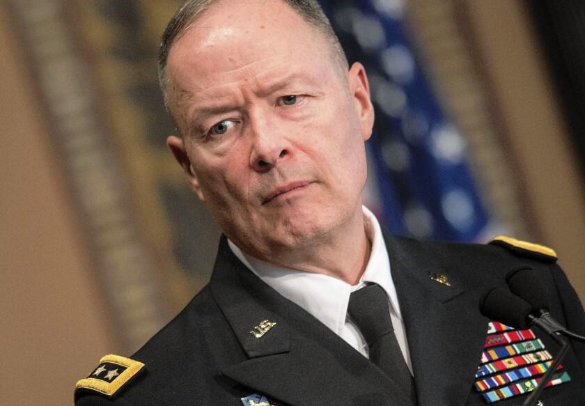 NSA chief Gen. Keith Alexander