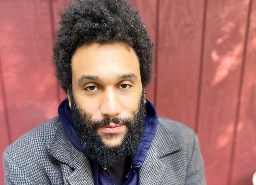 San Francisco poet laureate Tongo Eisen-Martin.