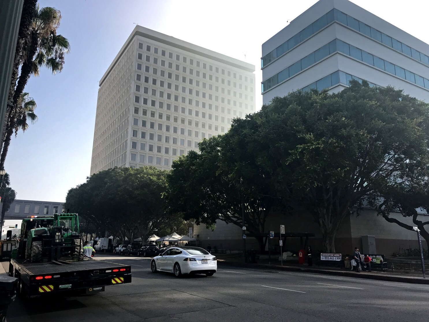 L.A. exposed city workers to trash and bodily fluids, state says