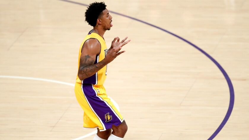 Will Nick Young be a former Laker in a couple of days?