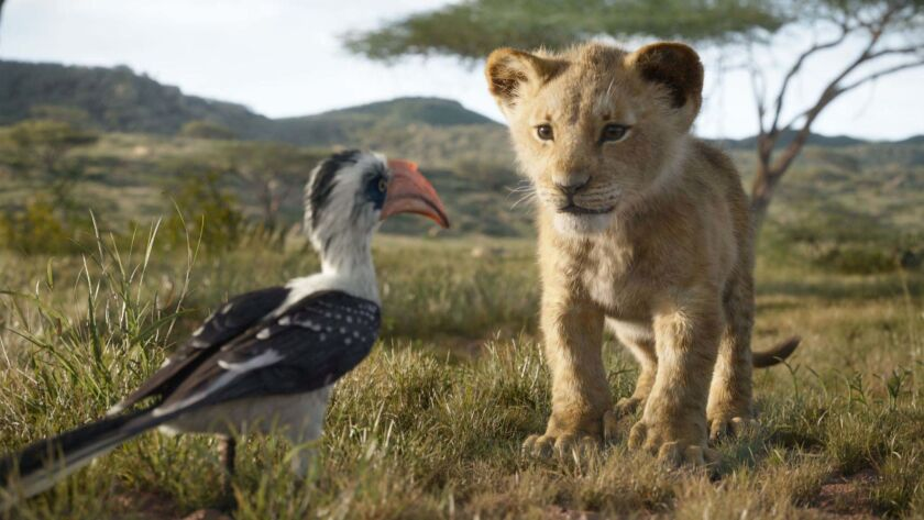 THE LION KING - Featuring the voices of John Oliver as Zazu, and JD McCrary as Young Simba, Disneyâ€