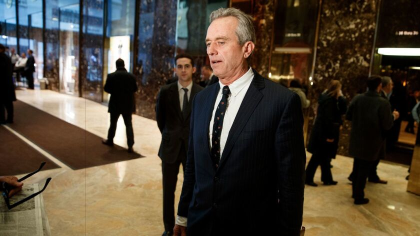 Robert F. Kennedy Jr. emerged from a meeting with Donald Trump on Tuesday to say he'd been recruited to lead a vaccine science commission. The Trump camp later said talks hadn't gotten that far.