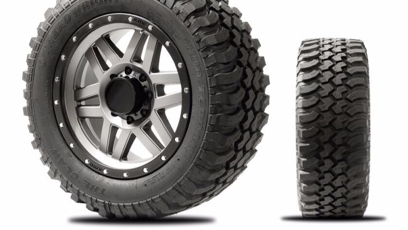 The off-road Claw II is now available in 33- and 35-inch diameters in 18- and 20-inch rim sizes.