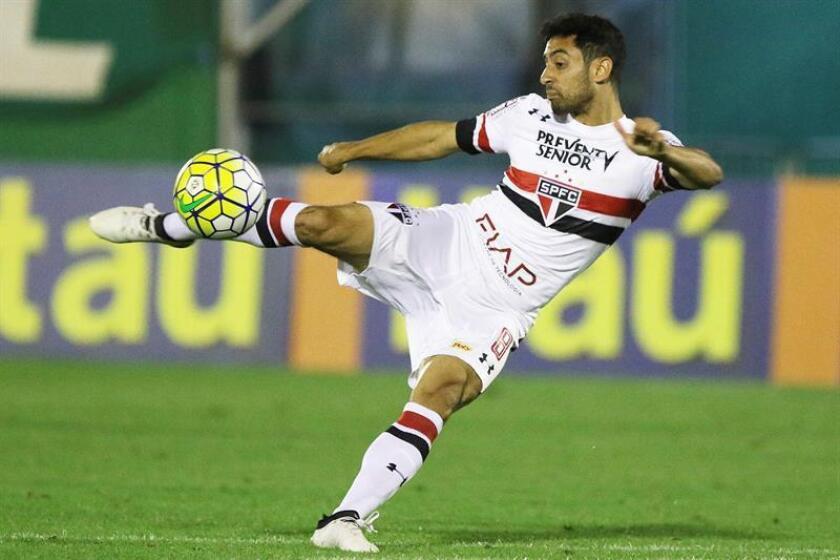 En la imagen, el centrocampista brasileño Daniel Correa Freitas, quien falleció el pasado 27 de octubre de 2018. EFE/Archivo