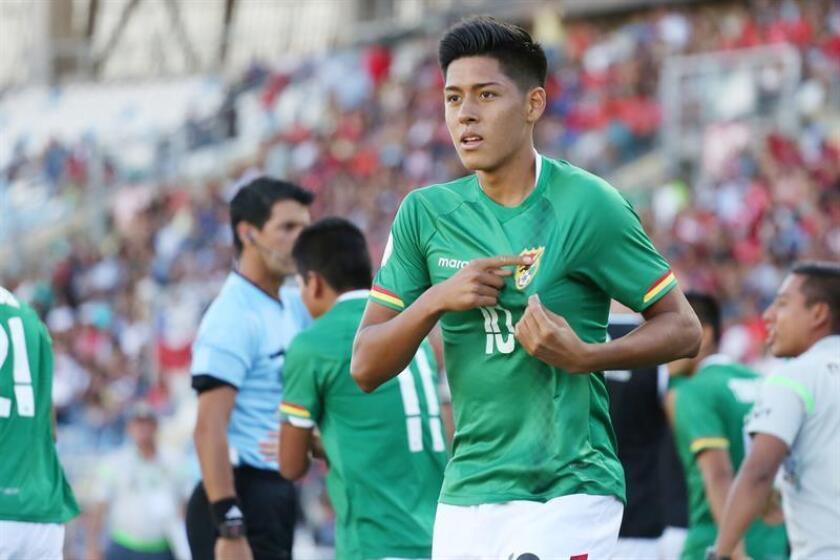 En la imagen, el futbolista boliviano Ramiro Vaca. EFE/Archivo
