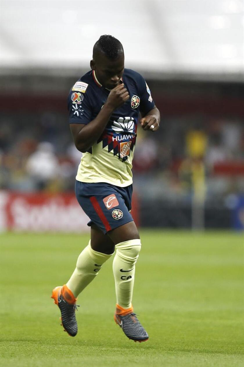 Imagen de archivo del delantero colombiano Darwin Quintero. EFE/Archivo