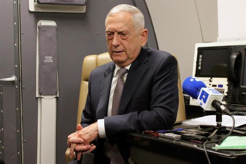 El secretario de Defensa de EEUU, James Mattis. EFE/Archivo