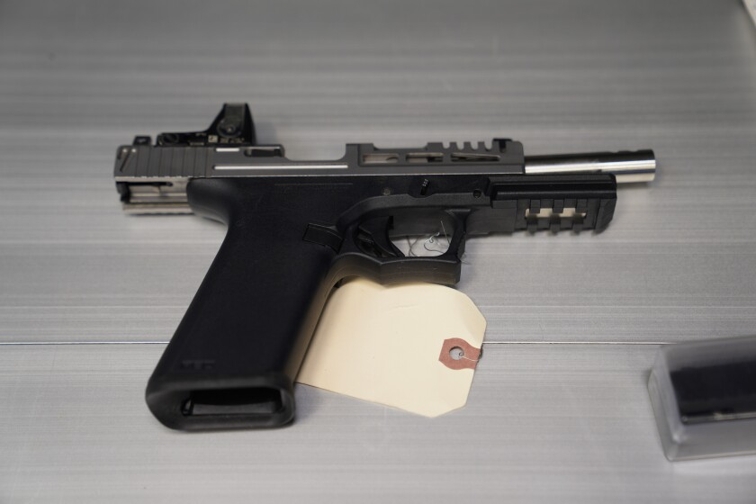 Ghost gun seized by San Diego police