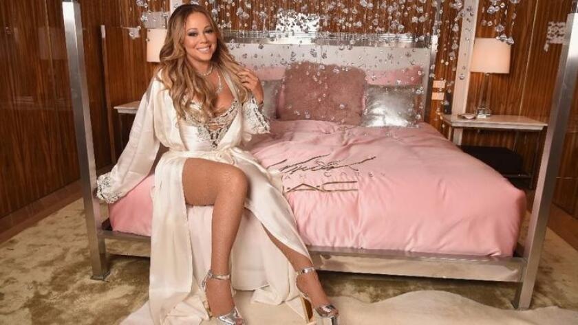 Mariah Carey attends the M.A.C Cosmetics Mariah Carey Beauty Icon Launch at Baccarat Hotel on Dec. 3, 2016 in New York City. She will join Lionel Richie for a joint 2017 concert tour. (Photo by Theo Wargo/Getty Images for M.A.C)