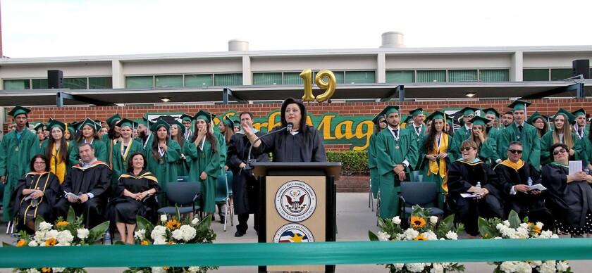 Photo Gallery: Clark Magnet High School graduation 2019