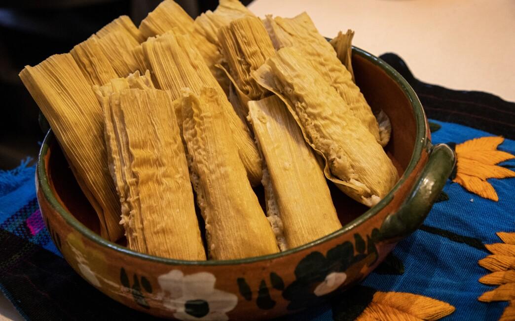 Early Christmas tamales
