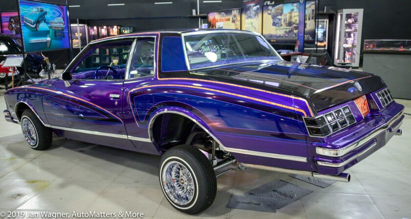 Purple 1979 Monte Carlo lowrider